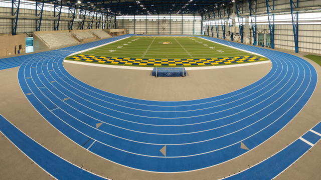 Welcome to the largest indoor track facility in the NCAA