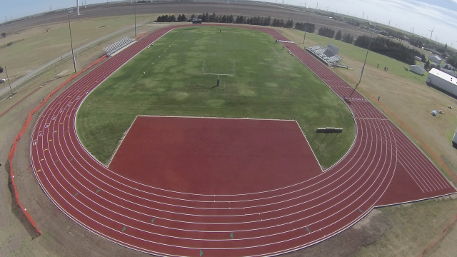 New Post-Tensioned Concrete Track and Beynon Surface to be Constructed at Spearville HS in 2016